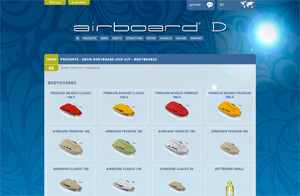 Webseite Airboard