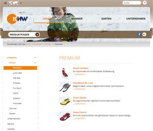 Webseite KHW