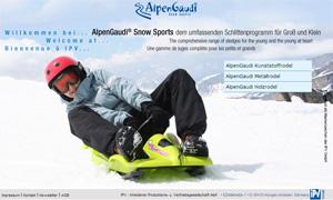 Webseite Alpengaudi