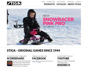 Webseite Stiga